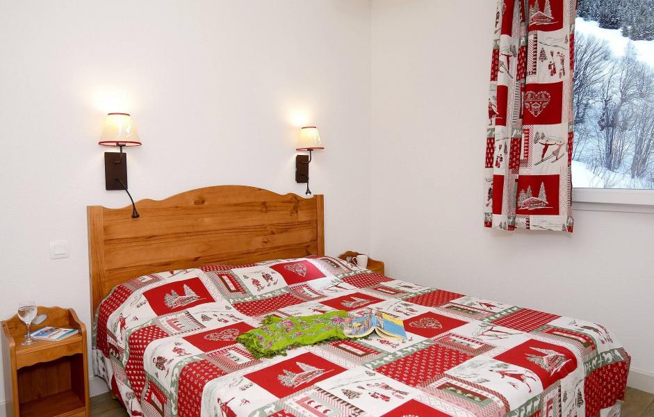 Аренда на лыжном курорте Résidence les Bergers - Saint Sorlin d'Arves - Двухспальная кровать
