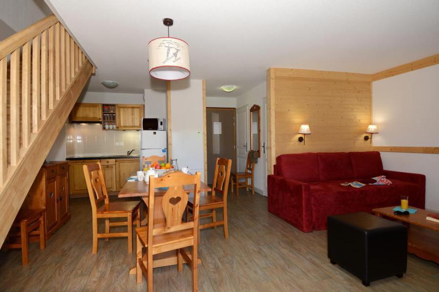 Аренда на лыжном курорте Résidence les Bergers - Saint Sorlin d'Arves - Кухня