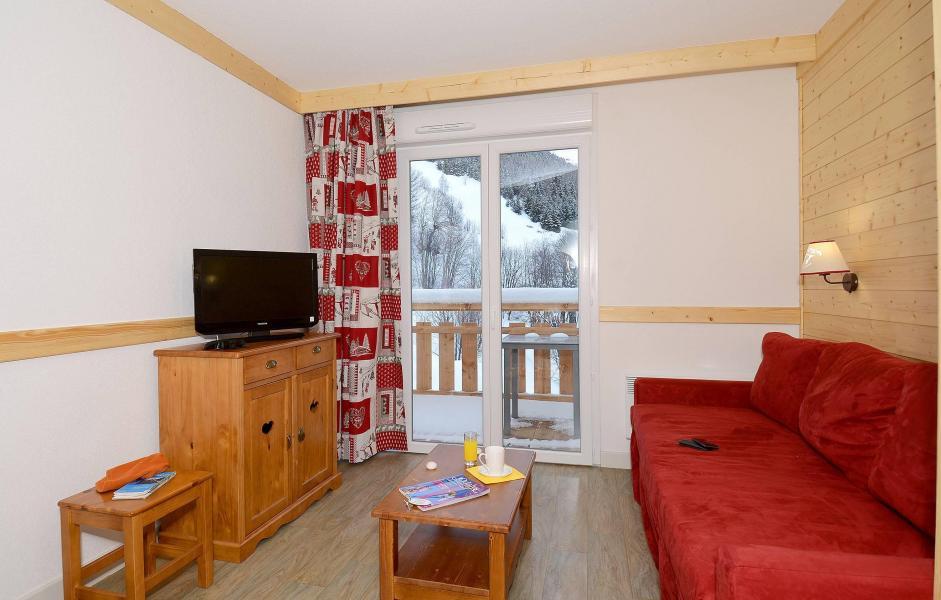 Аренда на лыжном курорте Résidence les Bergers - Saint Sorlin d'Arves - Салон