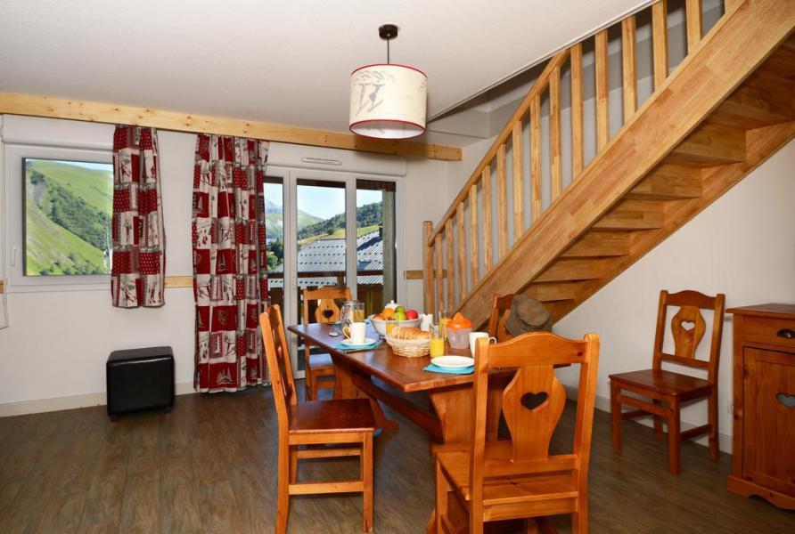 Location au ski Résidence les Bergers - Saint Sorlin d'Arves - Salle à manger
