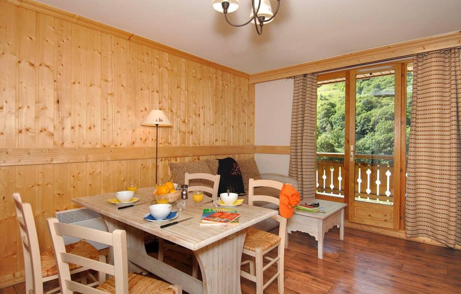 Аренда на лыжном курорте Résidence les Chalets de l'Arvan II - Saint Sorlin d'Arves - Столова&