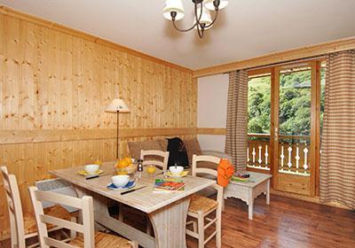 Location au ski Residence Les Chalets De L'arvan Ii - Saint Sorlin d'Arves - Salle à manger