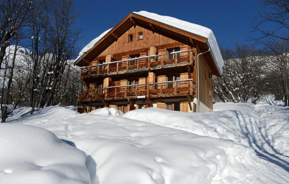 Soggiorno sugli sci Résidence les Chalets de la Porte des Saisons - Saint Sorlin d'Arves - Esteriore inverno