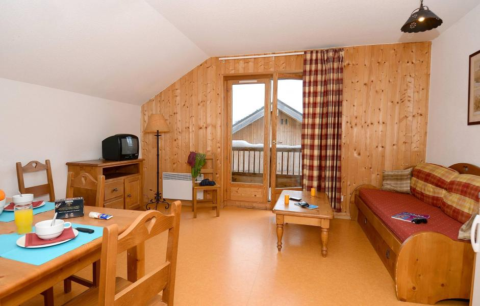 Аренда на лыжном курорте Résidence les Chalets de la Porte des Saisons - Saint Sorlin d'Arves - Салон