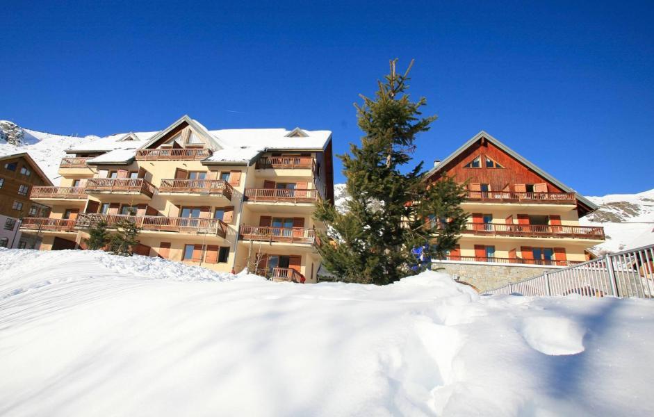 Location au ski Résidence les Sybelles - Saint Sorlin d'Arves - Extérieur hiver