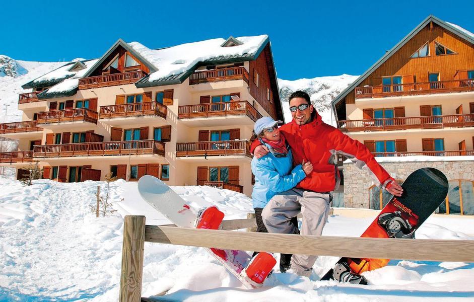 Vacances en montagne Résidence les Sybelles - Saint Sorlin d'Arves - Extérieur hiver
