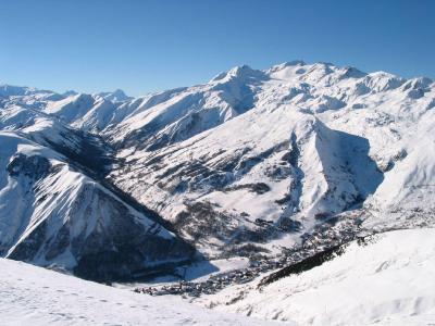 Vacances en montagne Les Fermes de Saint Sorlin - Saint Sorlin d'Arves - Extérieur hiver