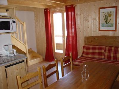 Location au ski Appartement 3 pièces 7 personnes (BCQ) - Les Fermes De Saint Sorlin - Saint Sorlin d'Arves - Escalier