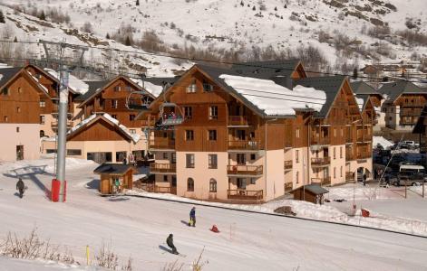 Location au ski Résidence l'Orée des Pistes - Saint Sorlin d'Arves - Extérieur hiver
