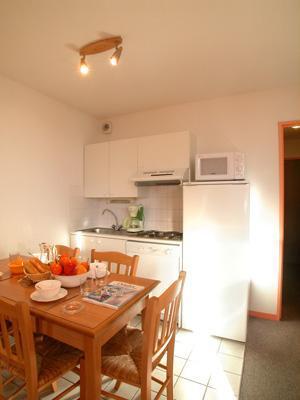 Location au ski Appartement 2 pièces cabine 5-6 personnes - Residence L'ouillon - Saint Sorlin d'Arves - Coin repas