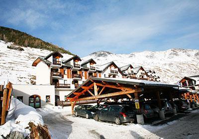 Location au ski Residence L'ouillon - Saint Sorlin d'Arves - Extérieur hiver