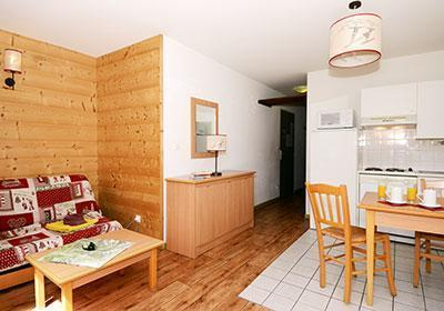 Location au ski Residence L'ouillon - Saint Sorlin d'Arves - Kitchenette