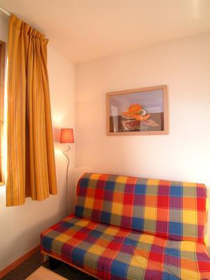 Location au ski Studio cabine 4 personnes - Residence L'ouillon - Saint Sorlin d'Arves - Coin séjour