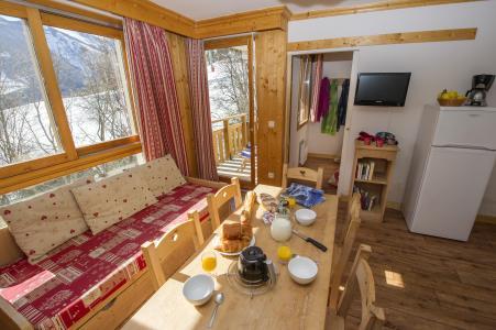 Аренда на лыжном курорте Résidence le Balcon des Neiges - Saint Sorlin d'Arves - Сиденье банкетка