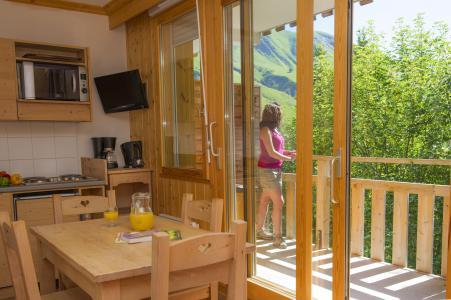 Alquiler al esquí Résidence le Balcon des Neiges - Saint Sorlin d'Arves - Cocina abierta
