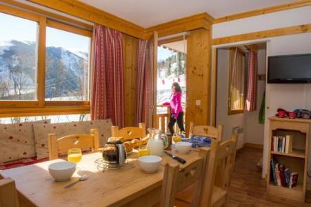 Location au ski Residence Le Balcon Des Neiges - Saint Sorlin d'Arves - Coin repas