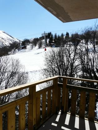 Location au ski Residence Le Balcon Des Neiges - Saint Sorlin d'Arves - Balcon