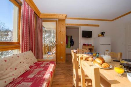 Location au ski Residence Le Balcon Des Neiges - Saint Sorlin d'Arves - Canapé-gigogne