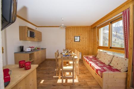 Location au ski Résidence le Balcon des Neiges - Saint Sorlin d'Arves - Séjour