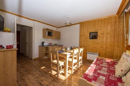 Аренда на лыжном курорте Résidence le Balcon des Neiges - Saint Sorlin d'Arves - Диван кровать