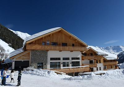 Location au ski Residence Les Bergers - Saint Sorlin d'Arves - Extérieur hiver