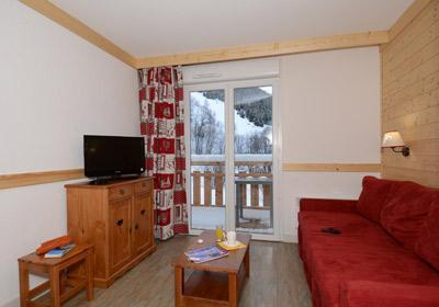 Location au ski Residence Les Bergers - Saint Sorlin d'Arves - Séjour