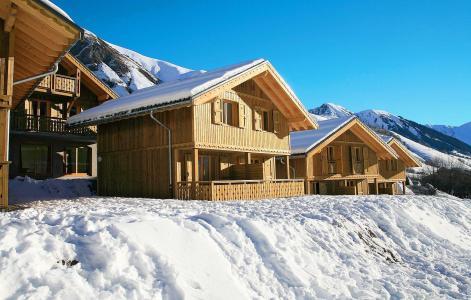 Location au ski Résidence les Chalets de l'Arvan II - Saint Sorlin d'Arves - Extérieur hiver
