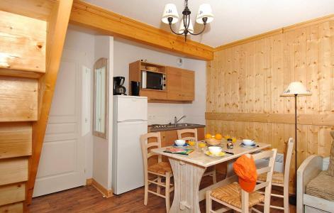 Location au ski Résidence les Chalets de l'Arvan II - Saint Sorlin d'Arves - Coin repas