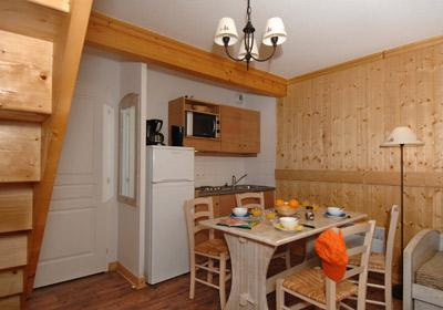 Location au ski Residence Les Chalets De L'arvan Ii - Saint Sorlin d'Arves - Kitchenette