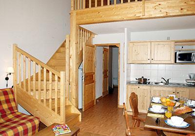 Location au ski Residence Les Chalets De L'arvan - Saint Sorlin d'Arves - Kitchenette