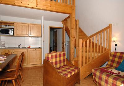 Location au ski Residence Les Chalets De L'arvan - Saint Sorlin d'Arves - Fauteuil