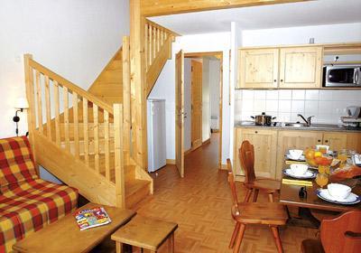 Location au ski Residence Les Chalets De L'arvan - Saint Sorlin d'Arves - Séjour