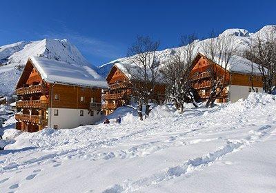 Location au ski Residence Les Chalets De La Porte Des Saisons - Saint Sorlin d'Arves - Extérieur hiver