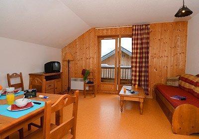 Location au ski Residence Les Chalets De La Porte Des Saisons - Saint Sorlin d'Arves - Séjour