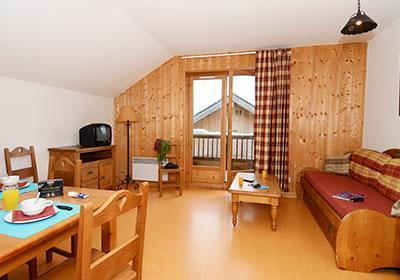 Location au ski Residence Les Chalets De La Porte Des Saisons - Saint Sorlin d'Arves - Salle à manger