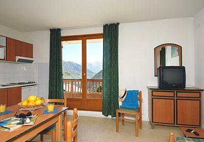 Location au ski Residence Les Sybelles - Saint Sorlin d'Arves - Salle à manger
