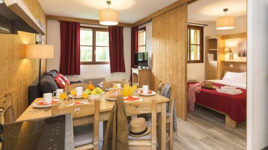 Location au ski Résidence Prestige l'Orée des Pistes - Saint Sorlin d'Arves - Coin repas