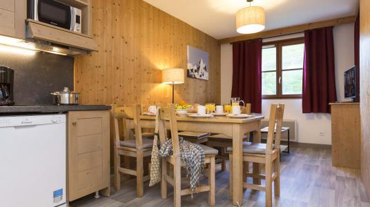 Location au ski Résidence Prestige l'Orée des Pistes - Saint Sorlin d'Arves - Table