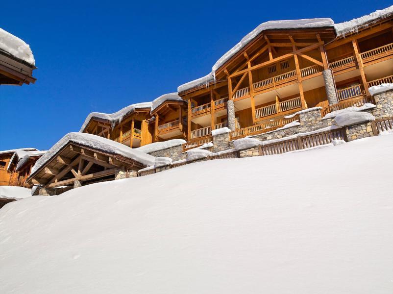 Urlaub in den Bergen Les Fermes de Sainte Foy - Sainte Foy Tarentaise - Draußen im Winter
