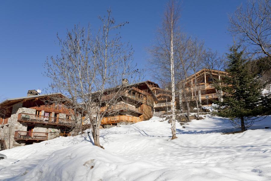 Urlaub in den Bergen Résidence Club MMV l'Étoile des Cîmes - Sainte Foy Tarentaise - Draußen im Winter