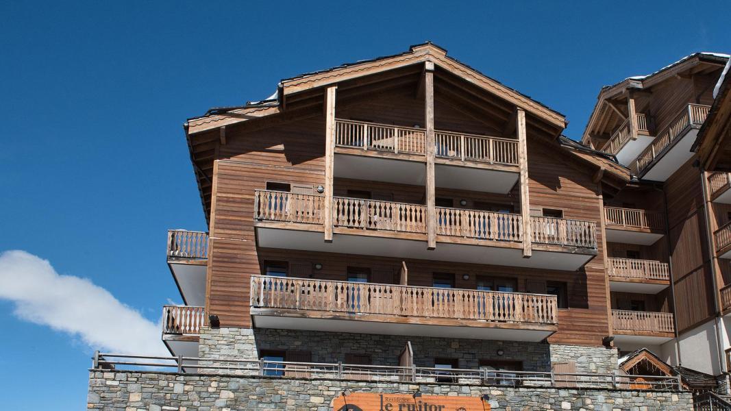 Location au ski Résidence le Ruitor - Sainte Foy Tarentaise - Extérieur hiver