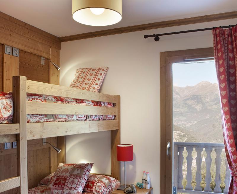 Аренда на лыжном курорте Résidence le Ruitor - Sainte Foy Tarentaise - Двухъярусные кровати