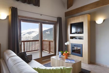 Location au ski Résidence Club MMV l'Étoile des Cîmes - Sainte Foy Tarentaise - Coin séjour