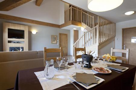 Location au ski Résidence Club MMV l'Étoile des Cîmes - Sainte Foy Tarentaise - Salle à manger