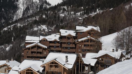 Аренда на лыжном курорте Résidence le Ruitor - Sainte Foy Tarentaise - зимой под открытым небом
