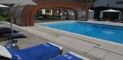 Chambre double bains wc samo ns alpes du nord hotel for Piscine samoens