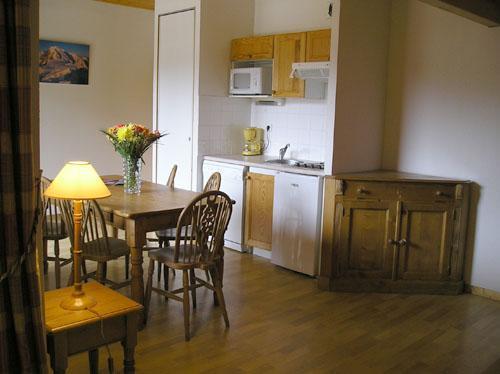 Location au ski Appartement 2 pièces cabine 5 personnes - Residence Le Domaine Du Grand Tetras - Samoëns - Séjour