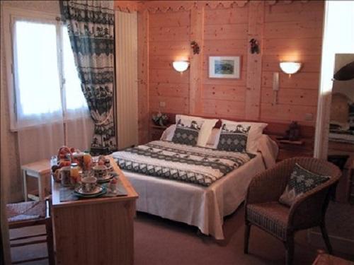 Location au ski Hotel Les Glaciers - Samoëns - Chambre
