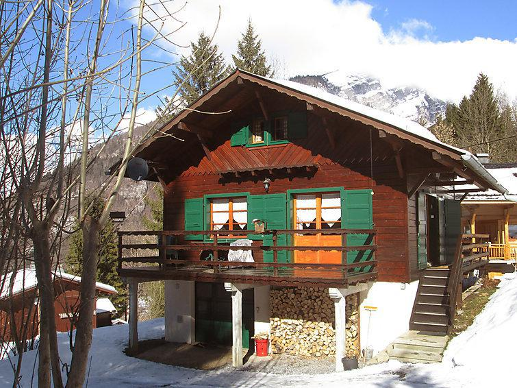 Holiday in mountain resort 4 room chalet 6 people (1) - Le Penoutlay - Samoëns - Winter outside