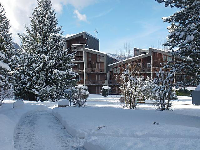 Holiday in mountain resort 1 room apartment 4 people (2) - Les Joncioles - Samoëns - Winter outside